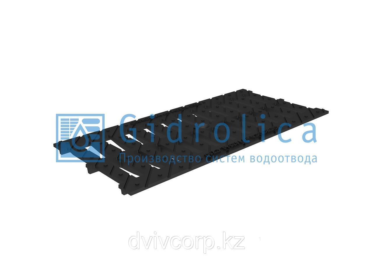 Арт. 524 Решетка водоприемная Gidrolica Standart РВ -20.24.50 - щелевая чугунная ВЧ, кл. С250