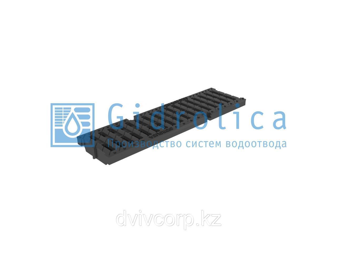 Арт. 509 Решетка водоприемная Gidrolica Pro РВ -10.13,5.50 - щелевая пластиковая, кл. С250