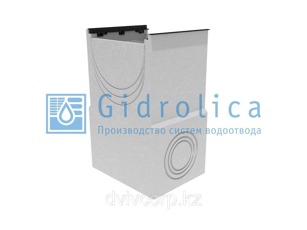 Пескоулавливающий колодец бетонный  (СО-500мм), односекционный, с чугунной насадкой ПКП 50.64