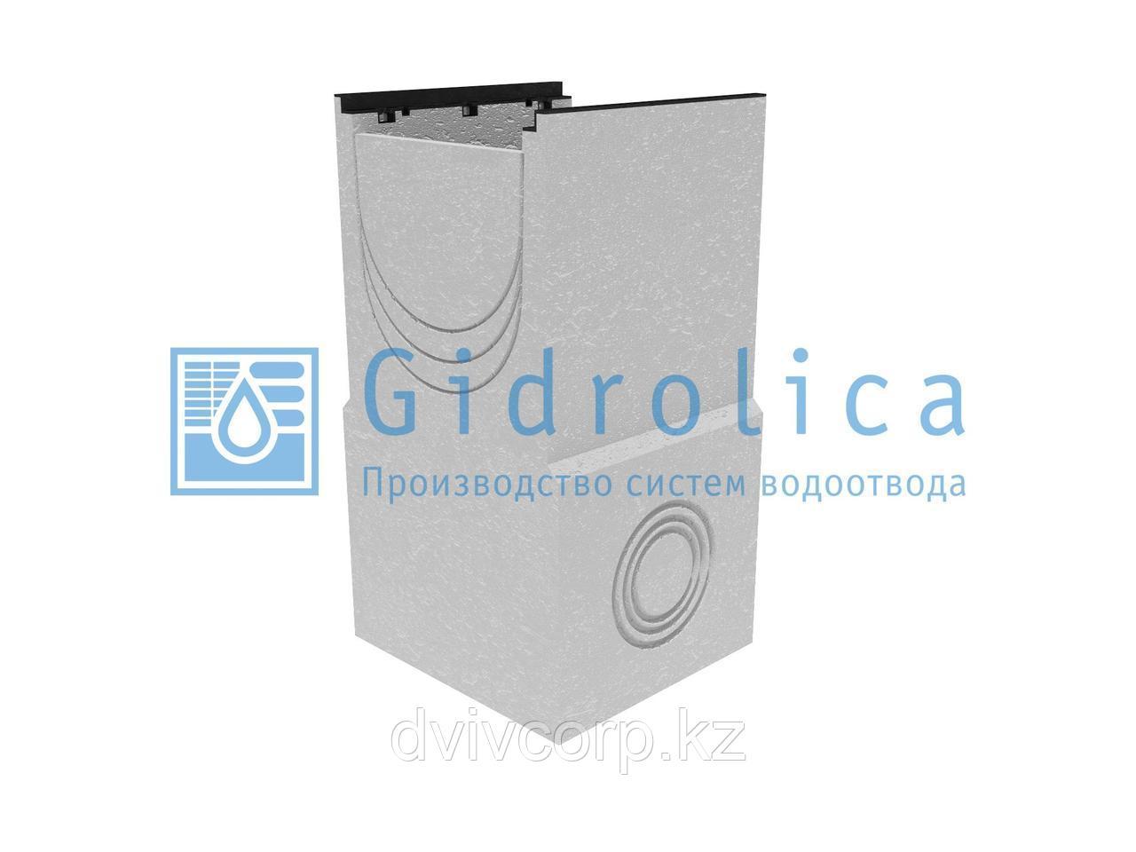 Пескоулавливающий колодец бетонный  (СО-400мм), односекционный, с чугунной насадкой  ПКП 50.54 (40).98(93) -
