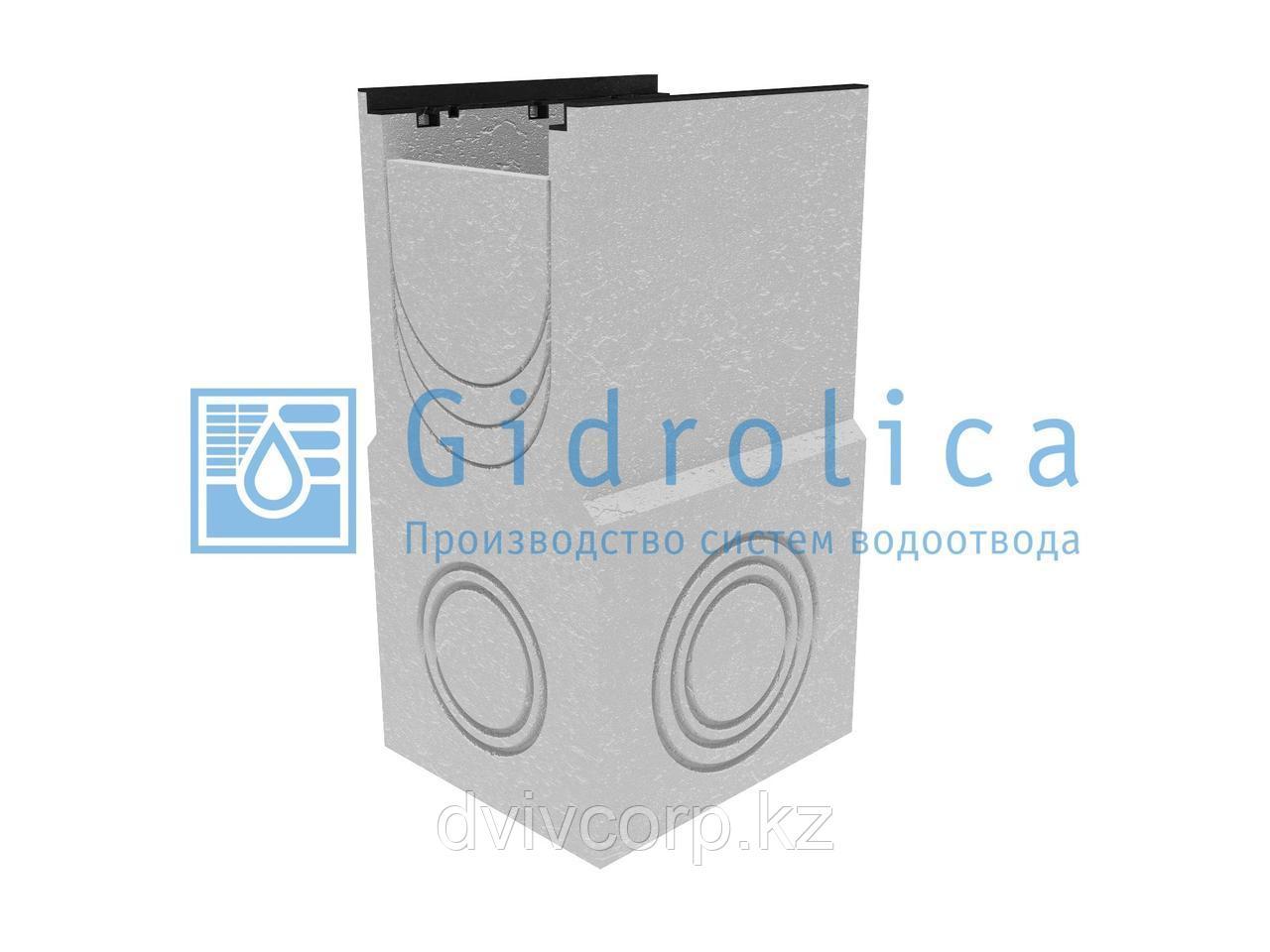 Пескоулавливающий колодец бетонный  (СО-300мм), односекционный, с чугунной насадкой  ПКП 50.44(30).88(83) -