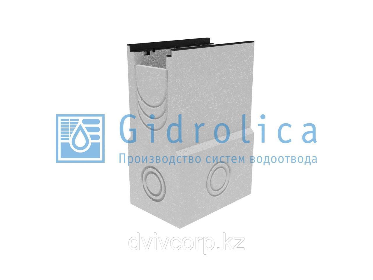 Пескоулавливающий колодец бетонный  (СО-200мм), односекционный,  с чугунной насадкой ПКП 50.34 (20).73(68,8) -