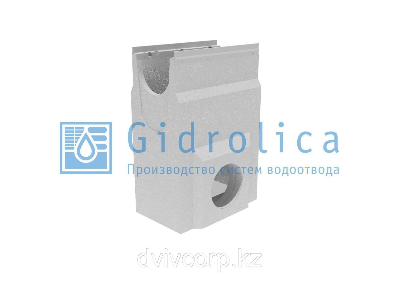 Пескоулавливающий колодец бетонный  (СО-200мм), односекционный, с оцинкованной  насадкой ПКП 50.33 (20).74(70)