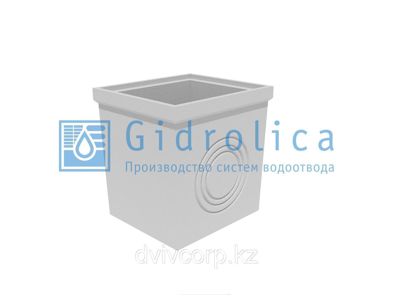 Пескоулавливающий колодец бетонный  (СО-300мм), нижняя часть ПКП 56.49(30).57