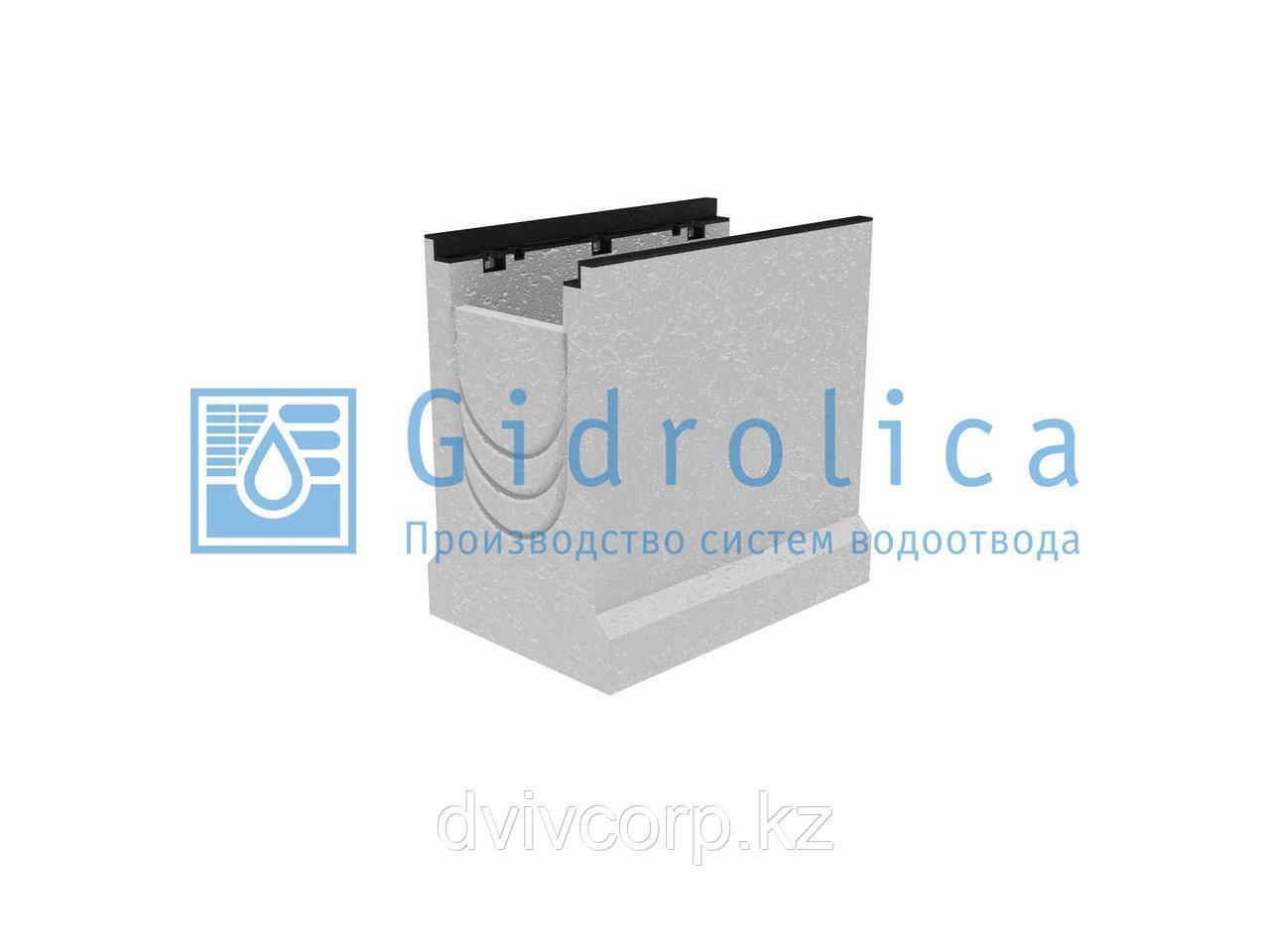 Пескоулавливающий колодец бетонный  (СО-200мм), верхняя часть, с чугунной насадкой ПКП 50.34 (20).50 - BGZ-S