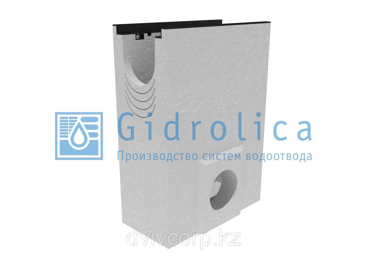 Пескоулавливающий колодец бетонный  (СО-150мм), односекционный,  с чугунной насадкой ПКП