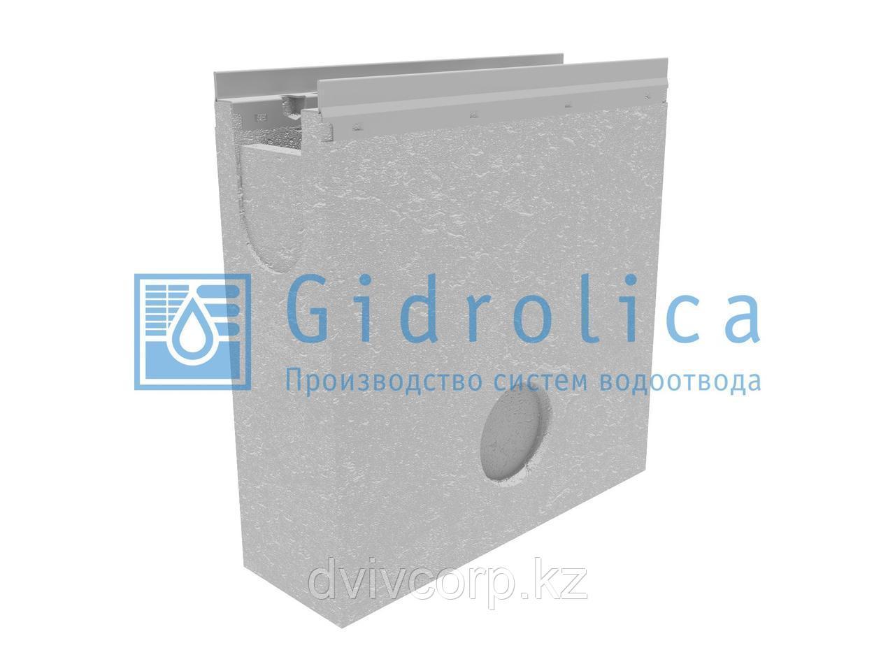 Пескоулавливающий колодец бетонный  (СО-100мм), односекционный,  с оцинкованной насадкой ПКП 50.16,3