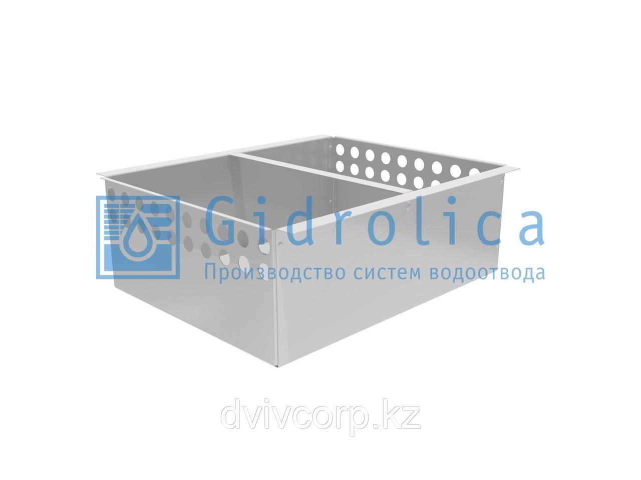 Корзина стальная универсальная для пескоулавливающего колодца (СО-500мм) Кпк 50 - 40.46,5.16,4