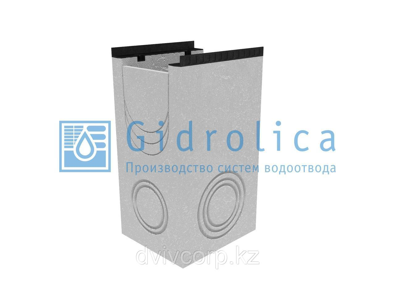 Пескоулавливающий колодец бетонный  (СО-300мм), односекционный с чугунной насадкой ПКП 50.44(30).90(85) - BGМ