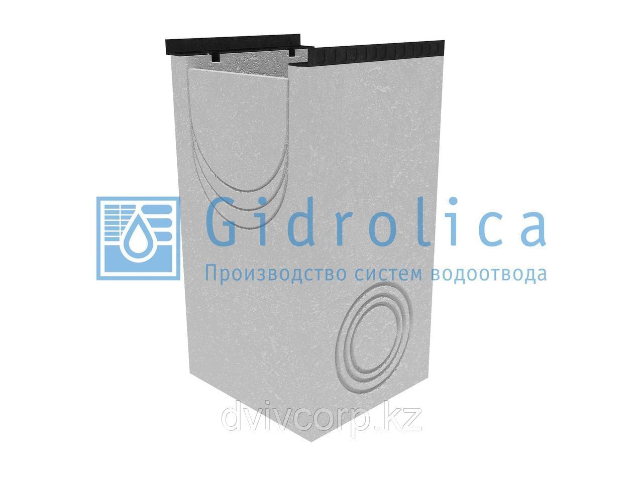 Пескоулавливающий колодец бетонный  (СО-400мм), односекционный с чугунной насадкой ПКП 50.54(40).100(95) - BGM