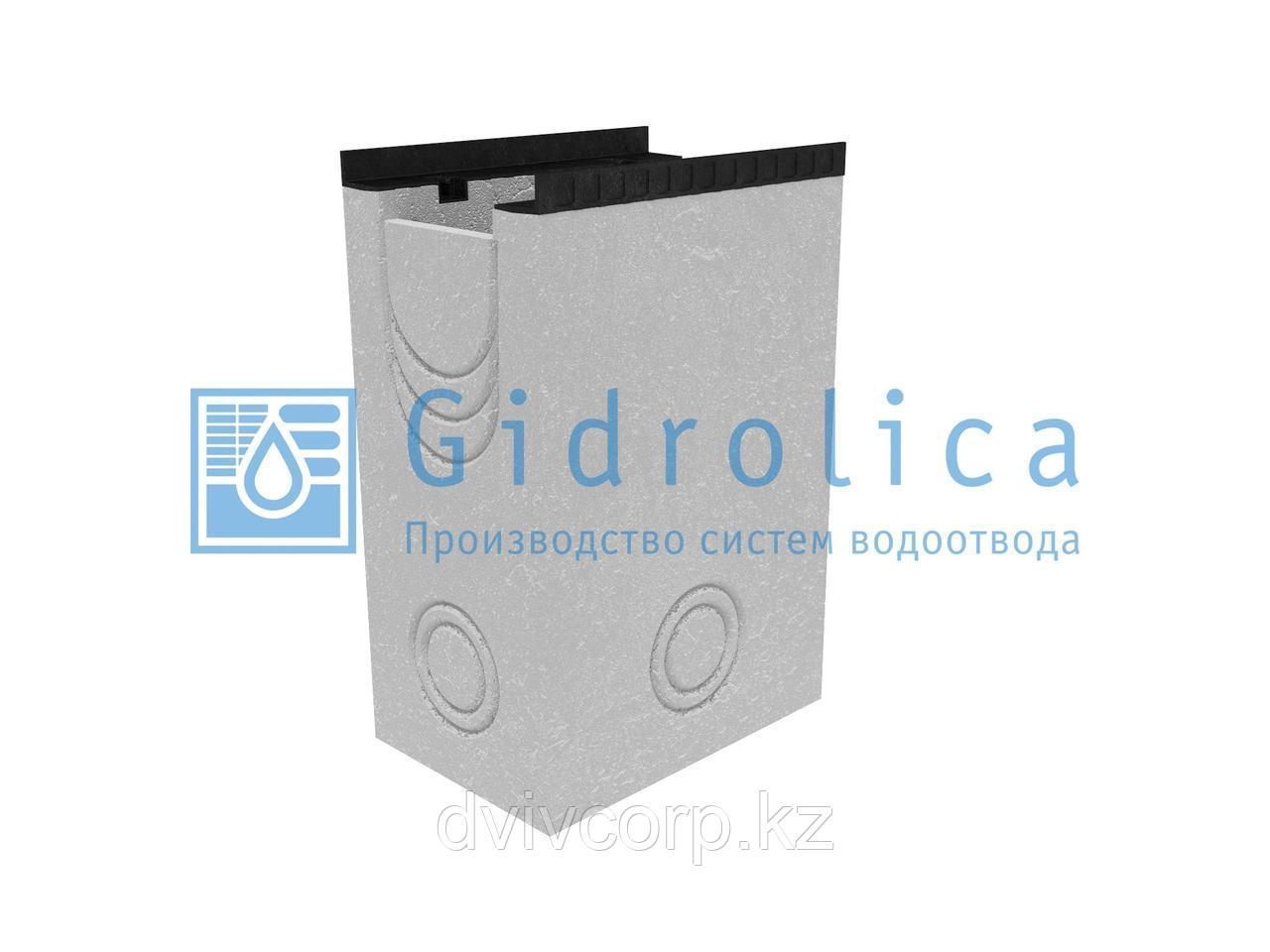 Пескоулавливающий колодец бетонный  (СО-200мм), односекционный  с чугунной насадкой ПКП 50.34(20).75(70) - BGМ