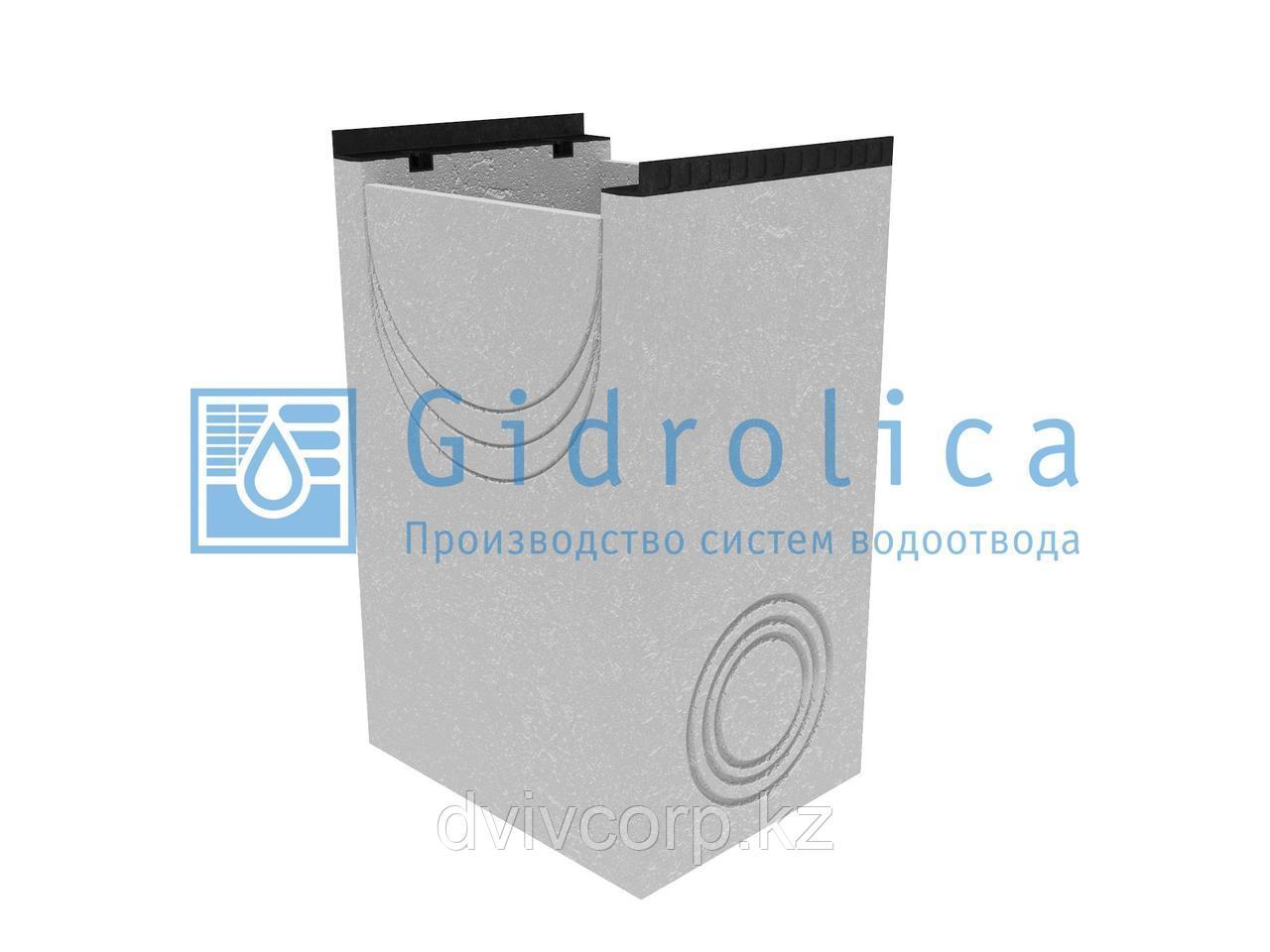 Пескоулавливающий колодец бетонный  (СО-500мм), односекционный с чугунной насадкой ПКП 50.64(50).100(95) - BGМ