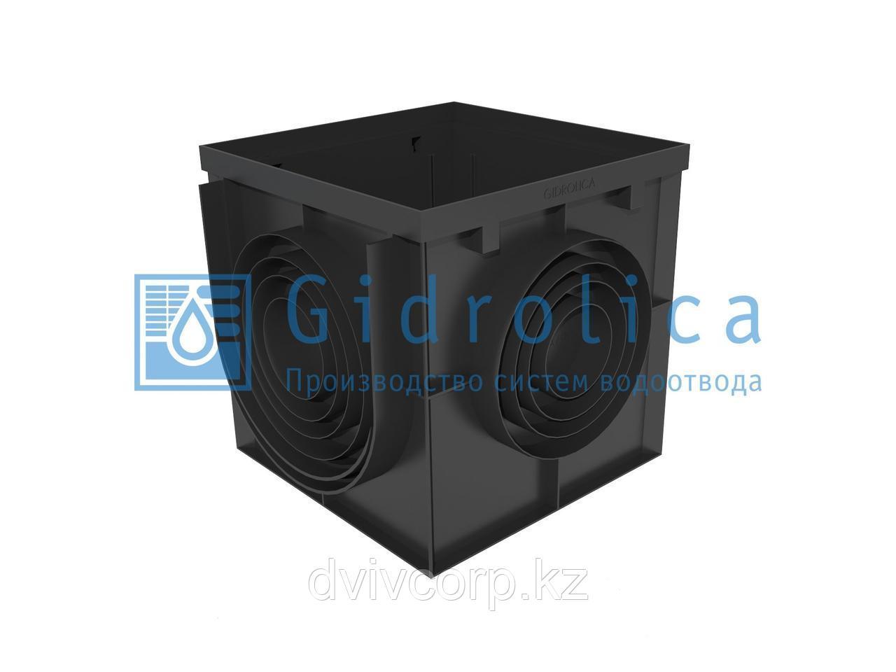 Арт. 239 Дождеприемник Gidrolica Point ДП-40.40 - пластиковый