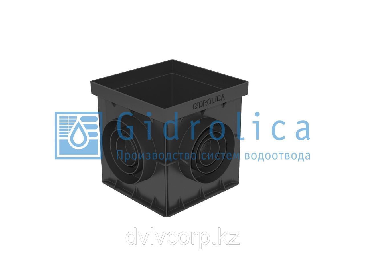 Арт. 249 Дождеприемник Gidrolica Point ДП-20.20 – пластиковый