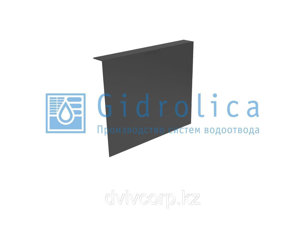 Арт. 211 Перегородка-сифон для дождеприемника Gidrolica Point ДП 40.40 - пластиковый
