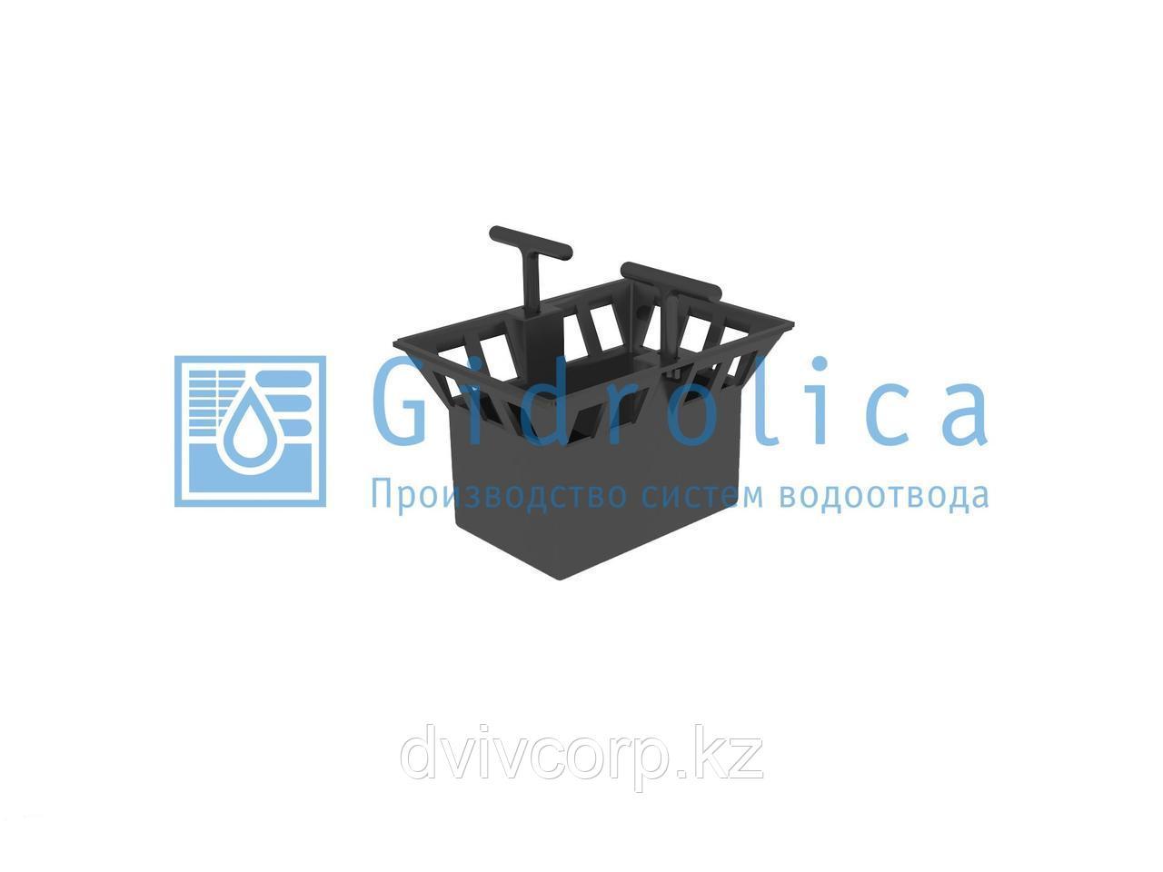 Арт. 213 Корзина для дождеприёмника Gidrolica Point ДП-20.20 – пластиковая