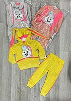 Детский спортивный костюм с ушками на 2-5 лет