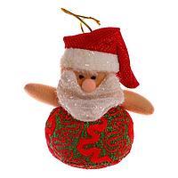 Подвеска 'Дед Мороз и Снеговик в зелёном шарфе', виды МИКС