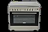 Электрогазовыe плиты DANKE FF 9505 GB GREY