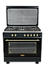 Плита газовая DANKE FF 9503 GF ANTHRACITE LUX