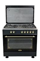 Плита газовая DANKE FF 9503 GF ANTHRACITE LUX, фото 1