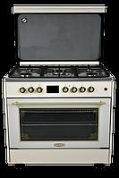 Электрогазовыe плиты DANKE FF 9507 GA BEIGE LUX, фото 1