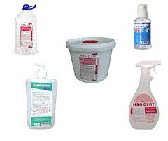 Антисептики (санитайзеры) для рук и дезинфицирующие салфетки
