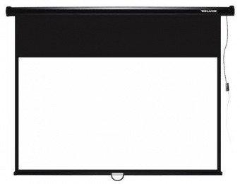 Экран настенный Deluxe DLS-M229-185 - Черный