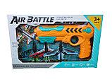 Пистолет катапульта с летающими самолетами Air Battle., фото 3