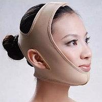 Лифтинг-маска (бандаж) для коррекции овала лица многоразовая