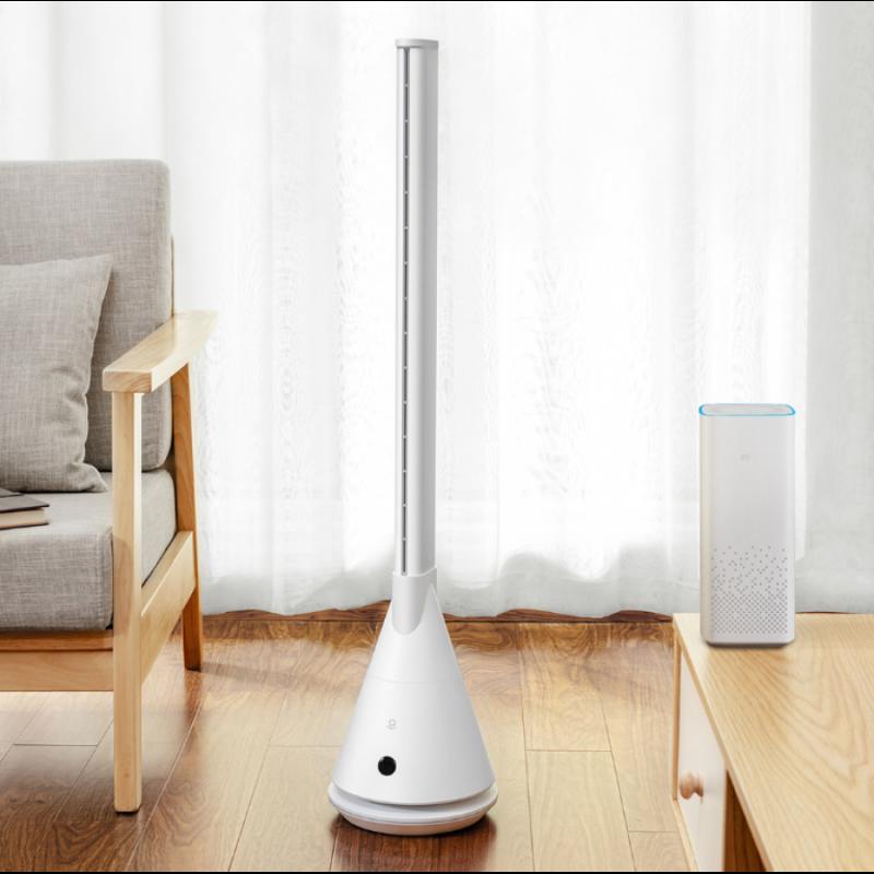 Напольный колонный вентилятор Xiaomi Lexiu Smart Leafless Fan, Оригинал. Арт.6832