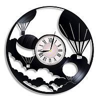 Настенные часы Воздушный шар, подарок фанатам, любителям, 2268