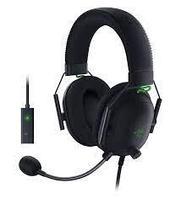 Гарнитура Razer BlackShark V2 + USB Sound Card, 12Hz-28kHz, 32 Om, 100dB, mic100Hz-10kHz,1.8m, Black