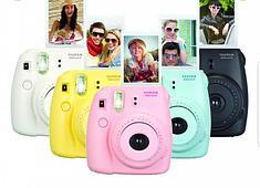 Детские цветные фотоаппараты