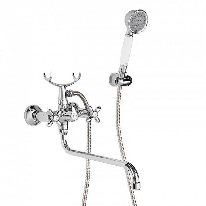 Смеситель IDDIS Jeals для ванны с длинным изливом