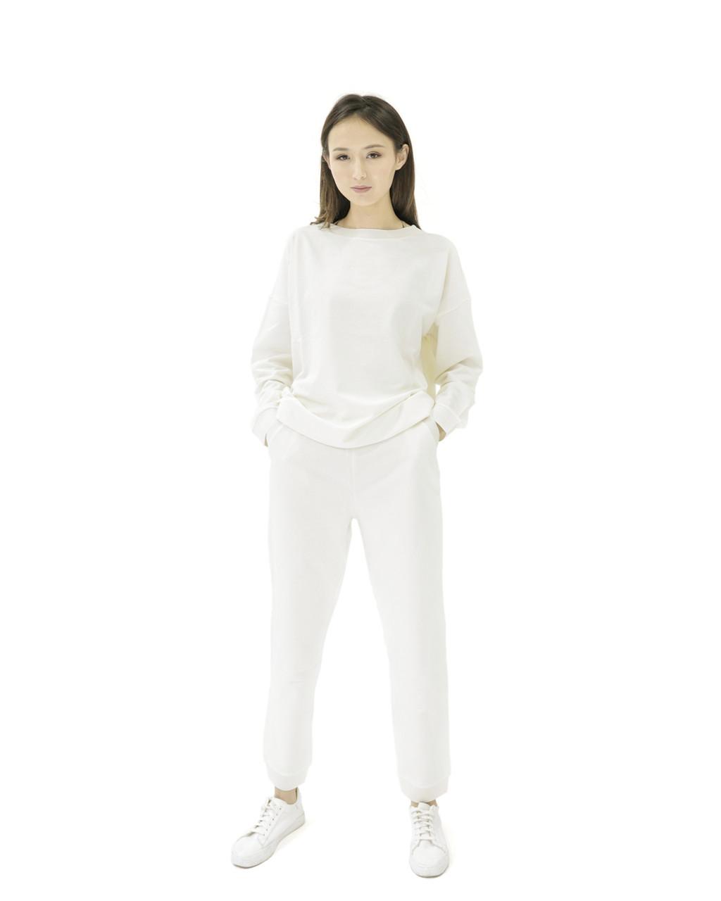 Женский костюм белый (sport collection 2021)