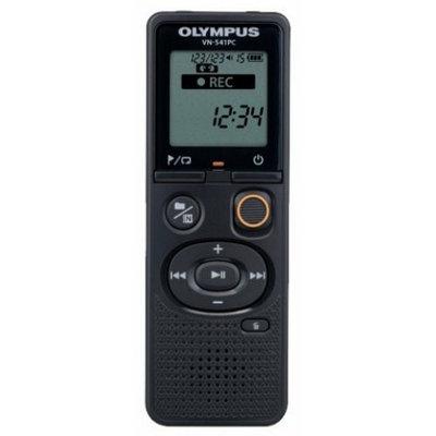"Диктофон цифровой Olympus VN-541PC, 4Gb, WMA, 1.39"", USB, 2xAAA, Black"