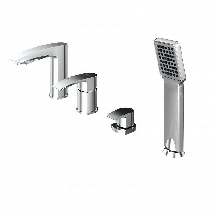 Смеситель IDDIS Vane для ванны на 4 отверстия