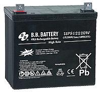 Аккумулятор B.B. Battery UPS12220W (MPL55-12) (12В, 55Ач)