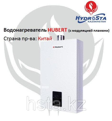 Проточный водонагреватель HUBERT AGW 24Q (электро поджиг) 12 литров в мин