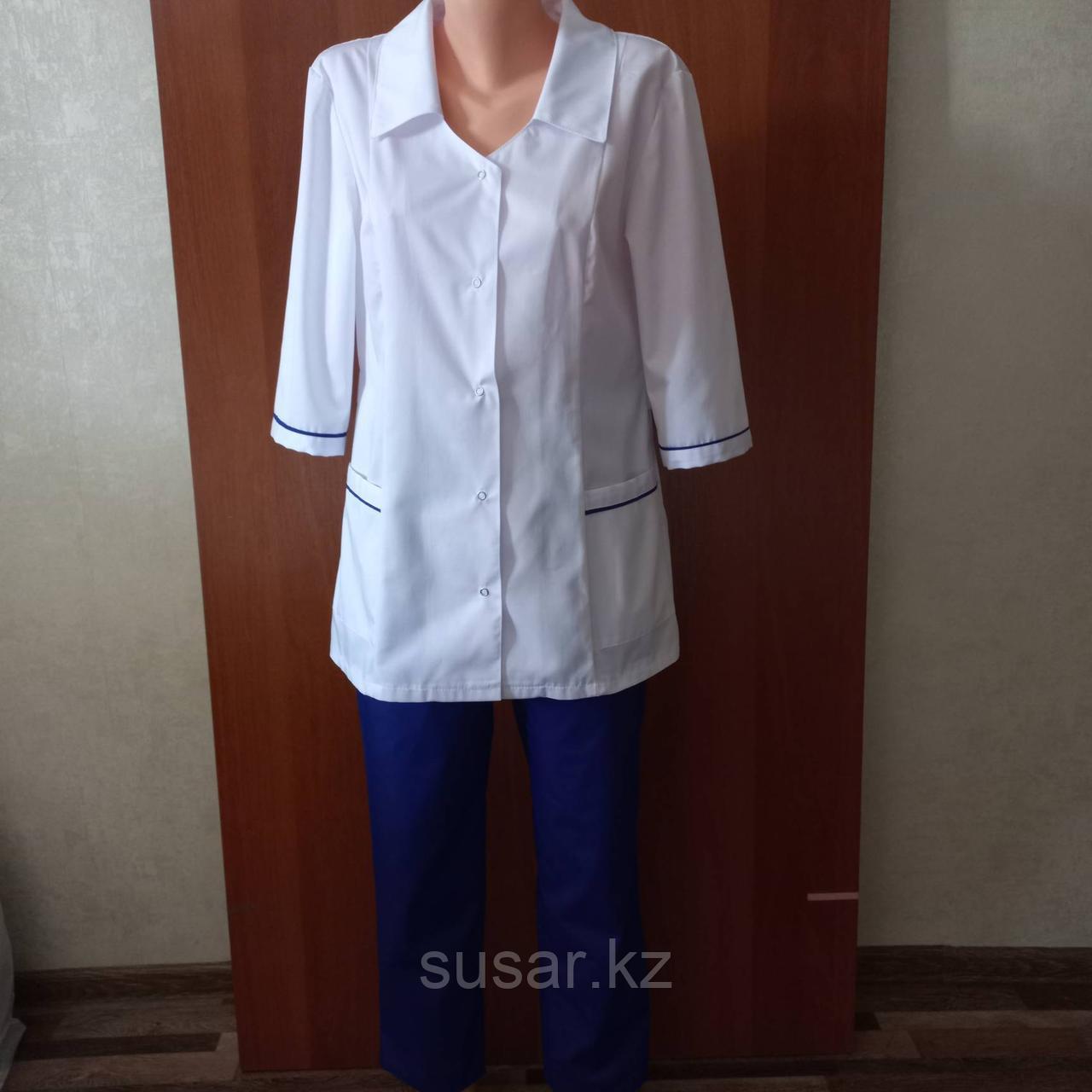 Медицинский костюм женский прямой