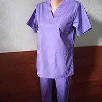 Медицинский костюм женский без застежки., фото 1