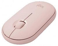 Мышь Logitech Pebble M350 910-005717, розовый