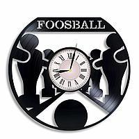 Настенные часы Кикер (настольный футбол), подарок любителям, 2307