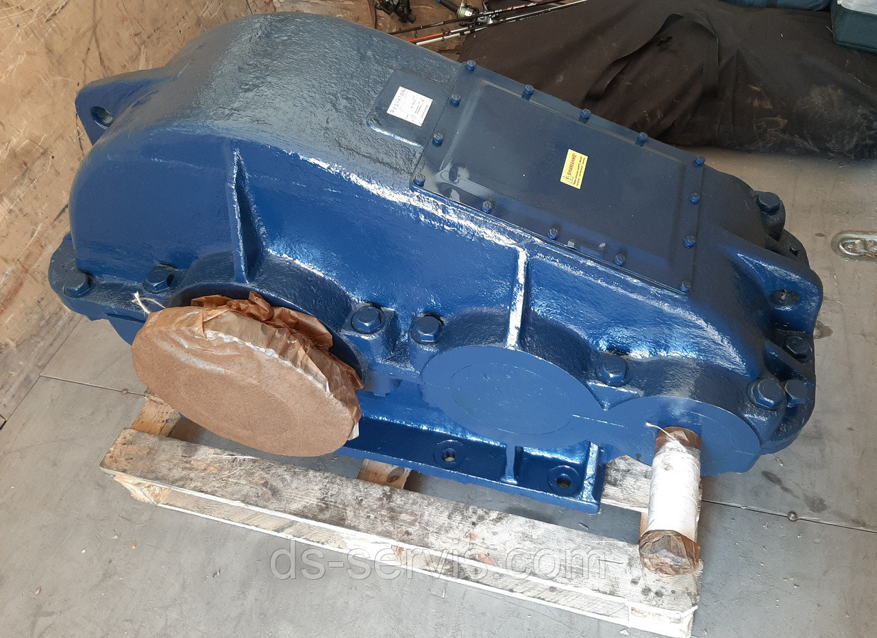 Редуктор крановый РМ650  грузовой лебедки крана КБ