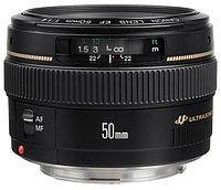 Объектив Canon EF 50mm, f/1.4 USM, черный