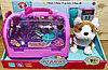 T813-1 Собачка Pet Play Set  с чемоданом и аксессуарами 42*25