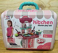 008-971 Кухня в чемодане 3 в 1 Kitchen set 27*25см, фото 1