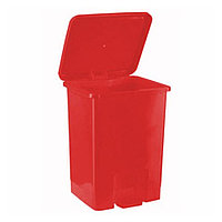 Контейнер с педальным механизмом для сбора и хранения медицинских отходов, класса В, красный, 15,0 л