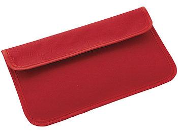 RFID блокер сигнала и футляр для телефона, красный